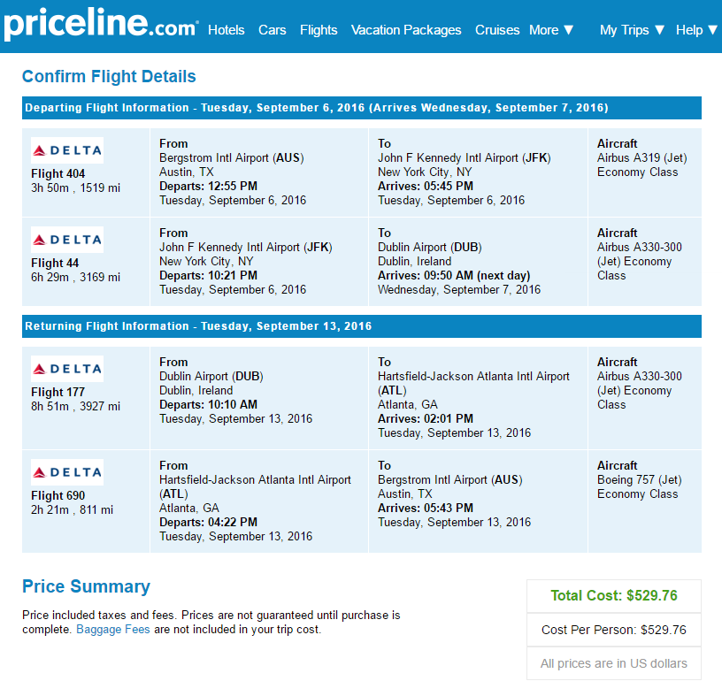 Flights: Austin / San Antonio to Europe $529-$723 r/t – AA / DL + ...
