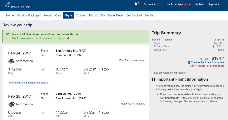 Flights From Mexico City To San Antonio