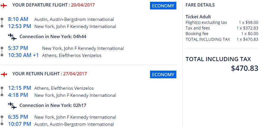 Canceling a Flight